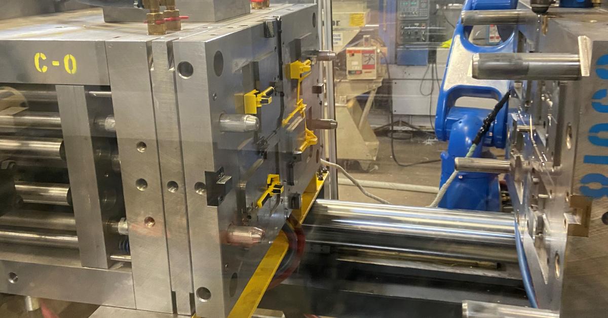 Uniphase 2-Shot Injection Molding Machine